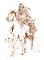 Nez Perce Indian Warrior 2 by mr-macd