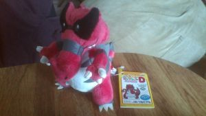 My Pokemon Collection Banpresto Krookodile Plush by PokeLoveroftheWorld