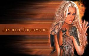New jenna jameson wallpaper 2 by dougawatkins