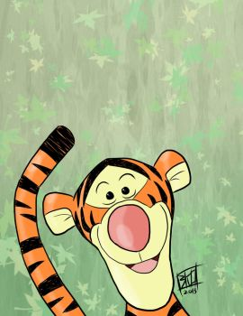 Tigger by vic5arch