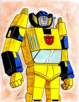 Sunstreaker g1 transformers by ailgara