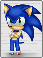 Nise Nendoroid 04: Sonic by Schizoideh