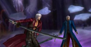 The Sons of Sparda by AlexiaC3222