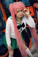 City. Saya Takagi cosplay by Giuzzys