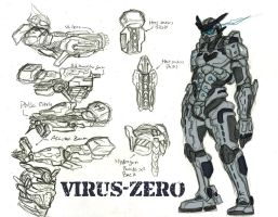 VIRUS Zero quick reff sheet by callme-Nobodi