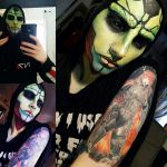 Mass Effect Thane Krios makeup by Aku-Soku-San