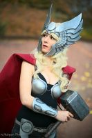 Lady Thor Cosplay by Bahamut95