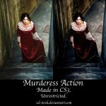 Murderess Action by sd-stock