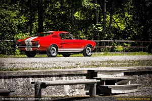 red s-code fastback I by AmericanMuscle