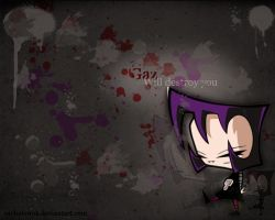 Gaz Wallpaper by RachelEwok