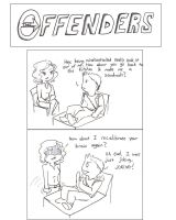 The Offenders: No Sandwiches. Only Comas. by ChibiChild16