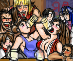 the real capcom vs snk by batchix