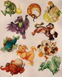 Collection of Tiny Monsters 1 by skulldog