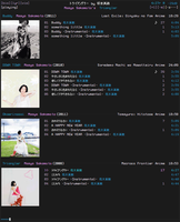 foobar_ncmpcpp_mod preview (old) by twnsnd