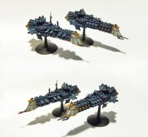 Gothic Fleet Mordias Inconcessus by Olovni