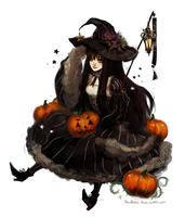 Pumpkin Witch by Ari-87