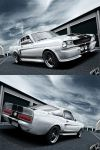 Ford Mustang White Eleanor by RS--Design