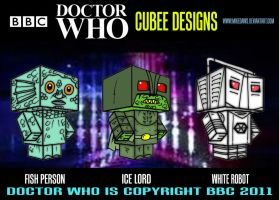 Cubee Who - 3 by mikedaws