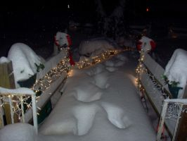 DC Snowstorm 2009 - Lights by moonwolf-95