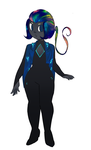 Black Fire Opal by noodlesqueen