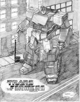 G1 Ironhide by VaderPrime1