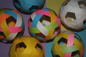 Origami spheres by MuggleHater