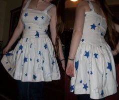 The Pillowcase Star Dress by taylor-of-the-phunk