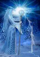 Fantasy Snow Dream by charmedy