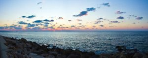 Sunset, South Lebanon, Saida - Zaher Bizri by Bizriart