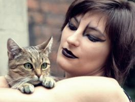 My Cat and model by ZzaniazZ