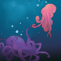 Octopus Looove by Potatoskin