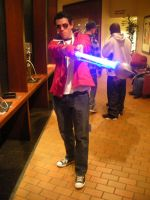 Katsucon 15 - Travis Touchdown by LinksIronBapes