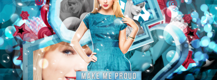 Portada: MakeMeProud. by sandy14bieber