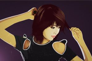 Sooyoung of SNSD by flyingblind