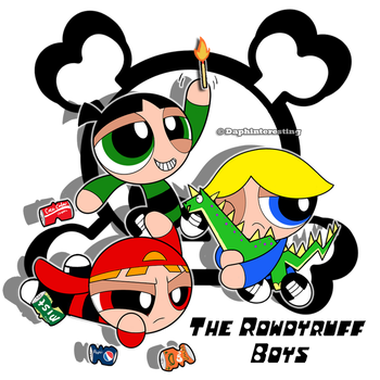 PPGs - The Rowdyruff Boys by DaphInteresting