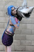 Jinx Cosplay by W0lfieRose