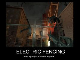 Electric Fencing by HairyKnees