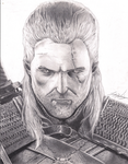 Geralt of Rivia - The Witcher by jdn18