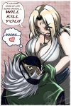 kakashi and Tsunade late again by Barrin84
