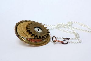 Steampunk pendant by TheCraftsman