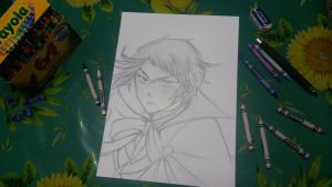 Elliot Nightray (Pandora Hearts) *WORK IN PROGRESS by Ibizase80