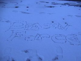 Dragonforce in the snow by megan-the-Speeddemon