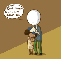 Cry and Clem by ANDILION5356