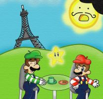 Les Freres Marios by Not-WisqoXD