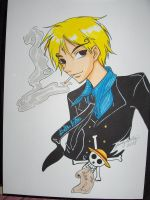 Sanji the All Blue cook by izaioi