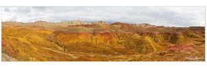 Painted Hills Panorama by Julian-Bunker