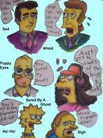 "Simpsons Emotion Tag ""3 of 3"" by Emeowrald"