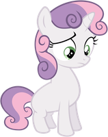 Confused Sweetie Belle by flutterguy317