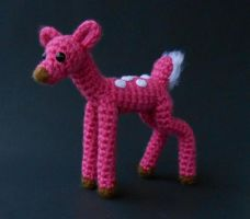 Pink Fawn by Pickleweasel360