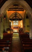 Alfriston Church Upstairs by wreck-photography